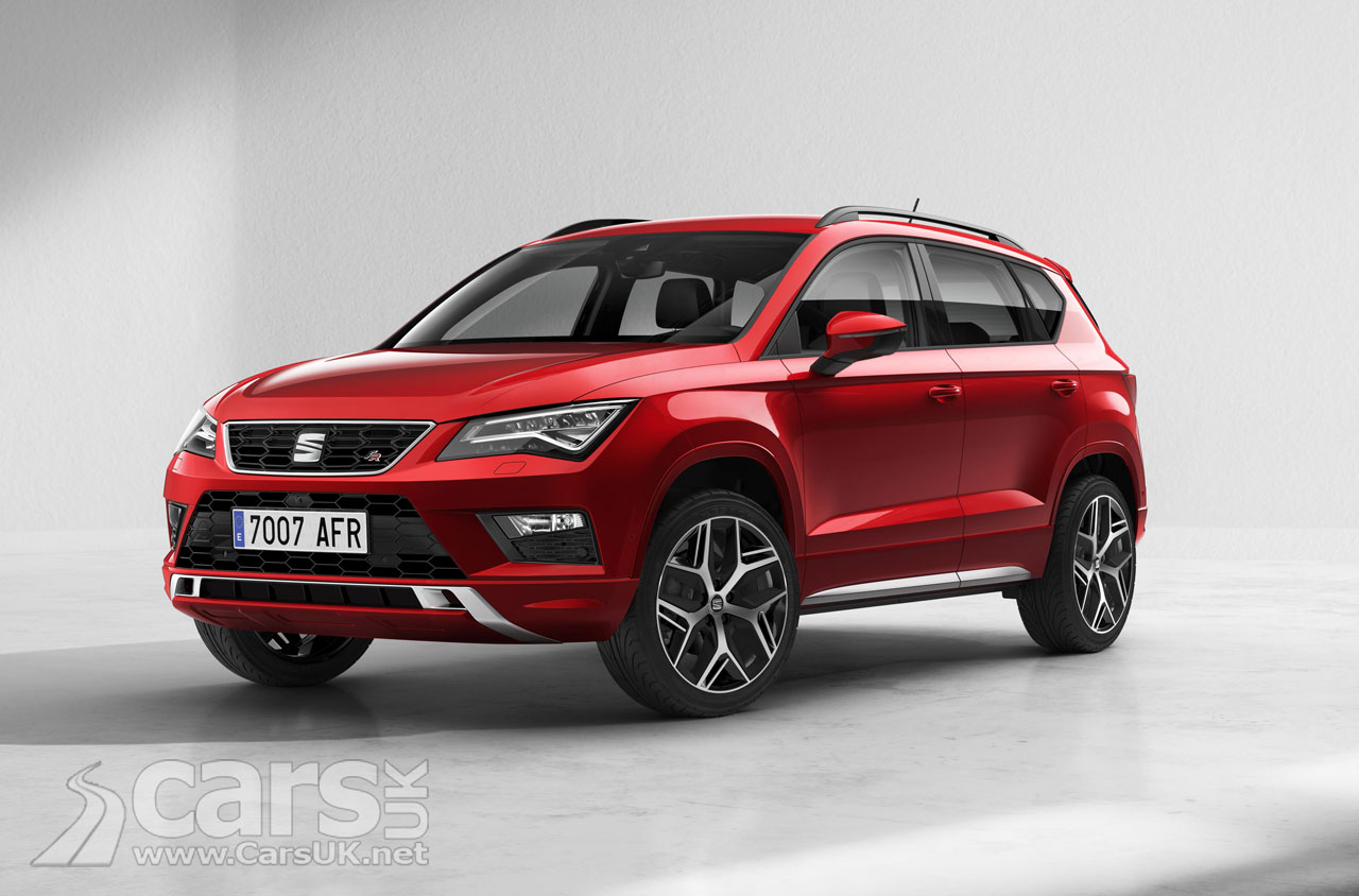 seat ateca fr seat 39 s sporty ateca uk price and specs announced costs from 24 960 cars uk. Black Bedroom Furniture Sets. Home Design Ideas