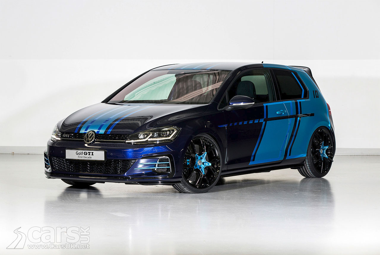 Volkswagen Golf Gti First Decade Is A 404bhp Hybrid Golf