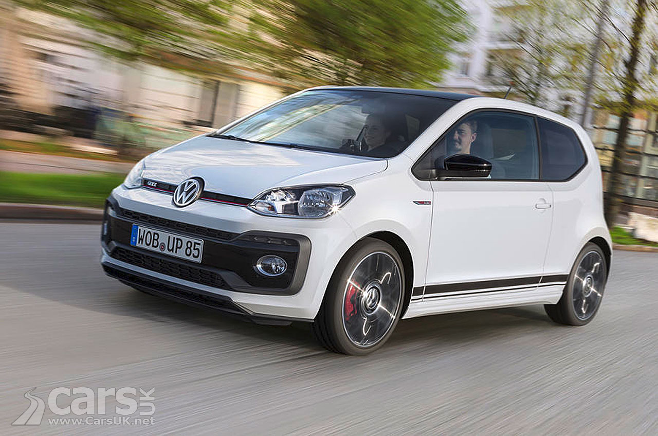 Volkswagen Up Gti Arrives To Cast A Performance Glow On
