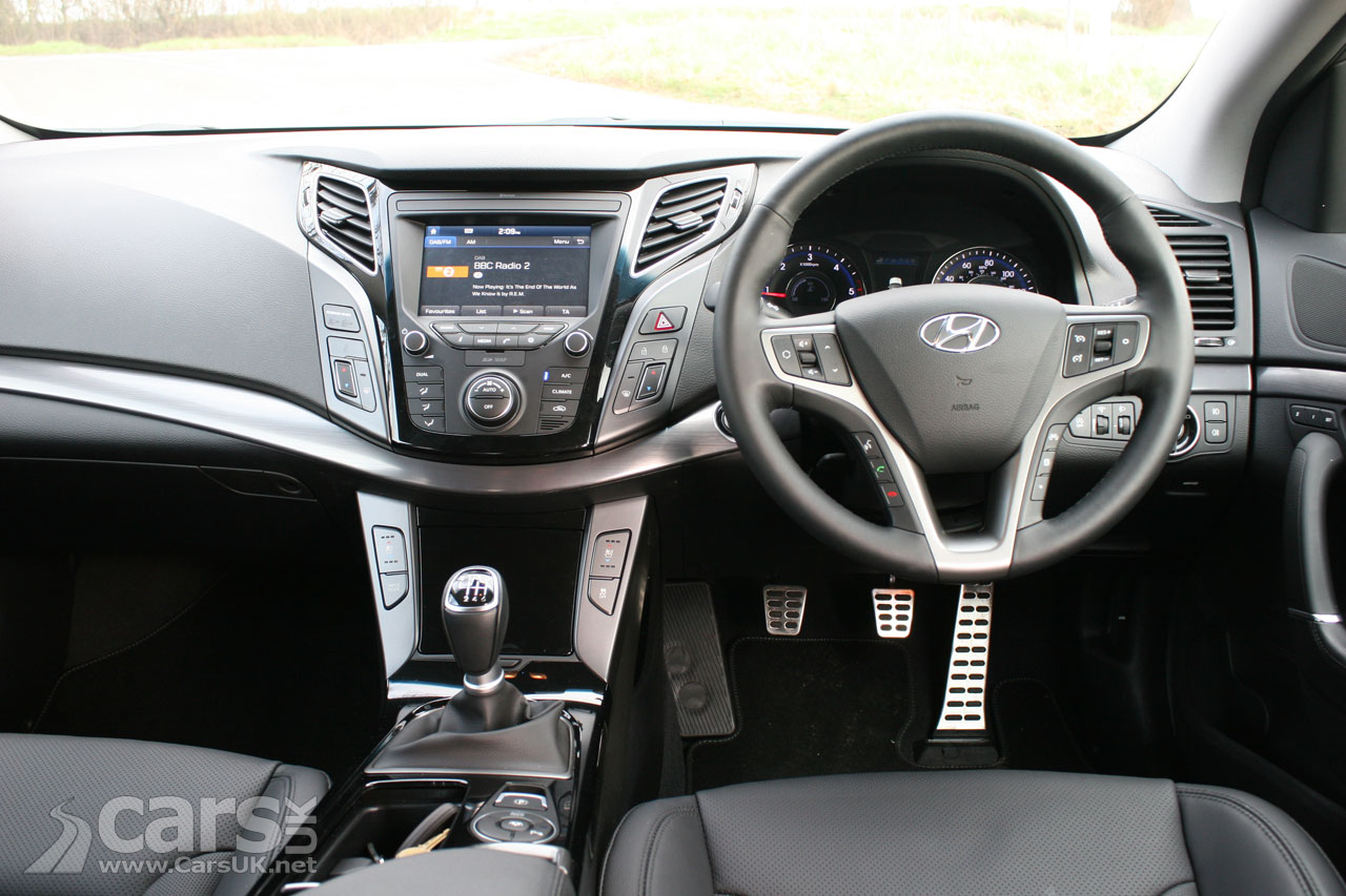 Photo 2017 Hyundai i40 Premium Review Interior