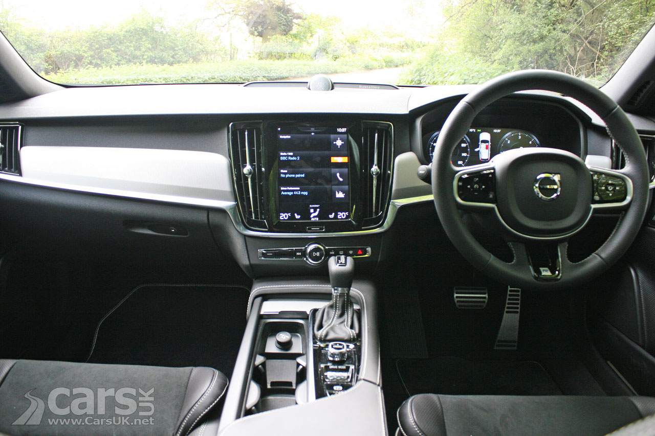 Photo 2017 Volvo V90 D5 R-Design Interior