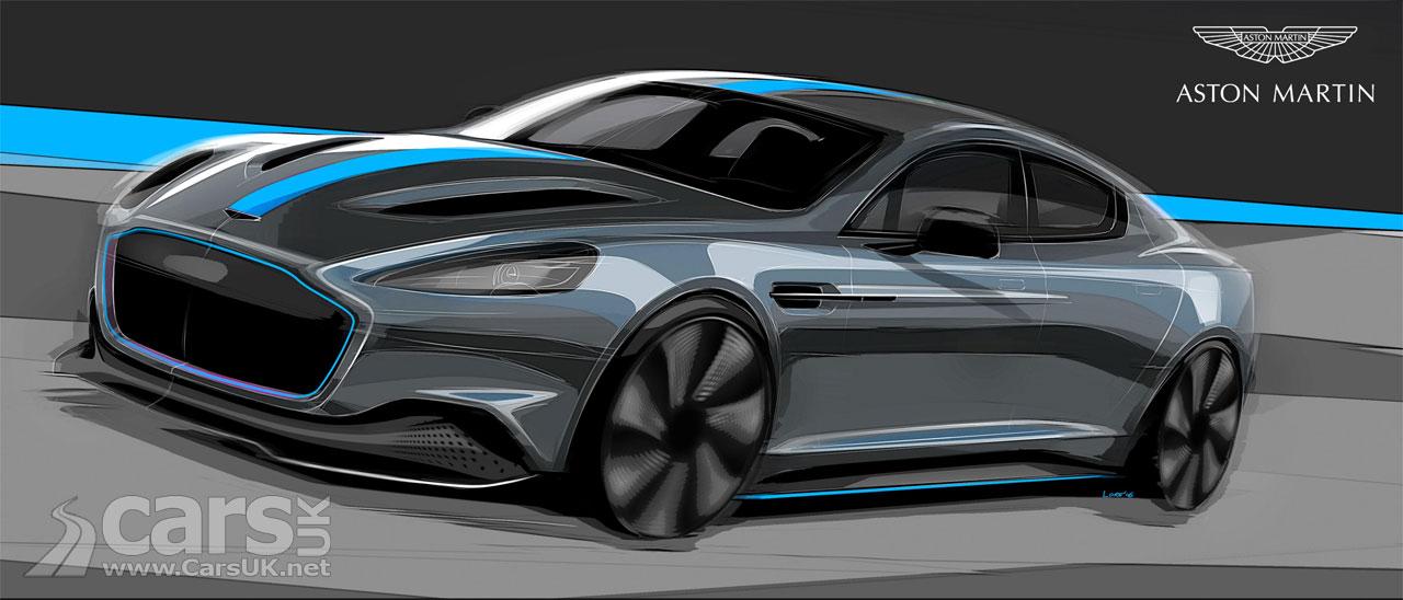 Photo Electric Aston Martin RapidE