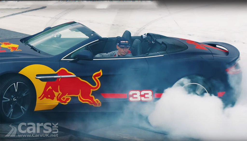 Photo Max Verstappen Aston Martin Caravan Race