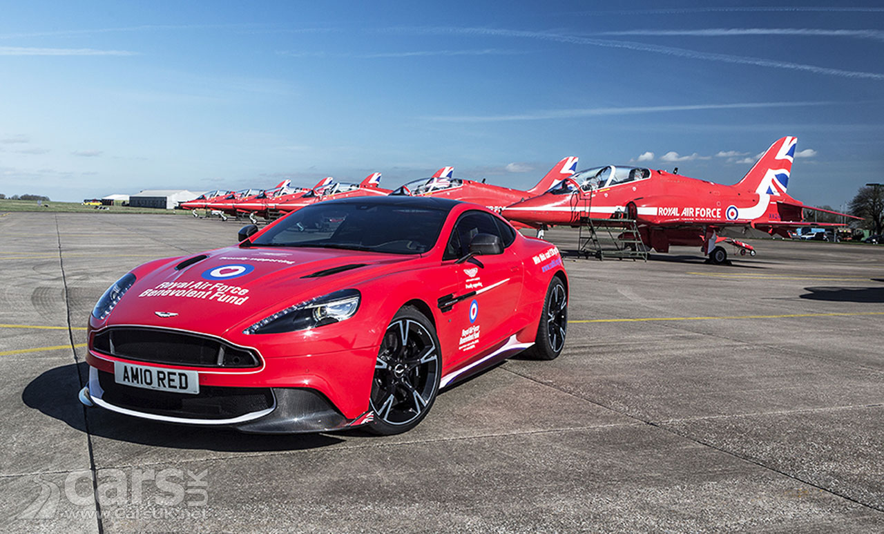 Aston Martin Vanquish S Red Arrows By Q Limited Edition Aston Yours For Just 163 20 Cars Uk
