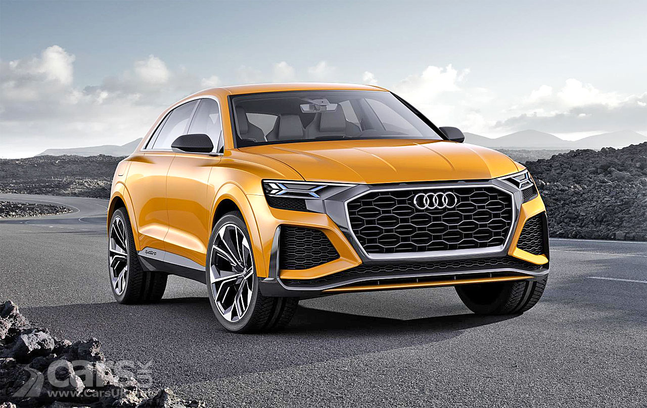 audi q8 suv will be followed by the q4 and three new electric audi e trons cars uk. Black Bedroom Furniture Sets. Home Design Ideas