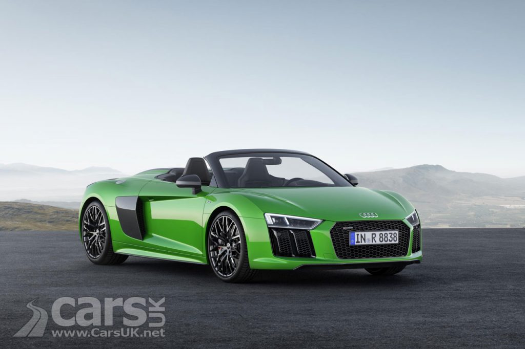Photo Audi R8 Spyder V10 Plus convertible