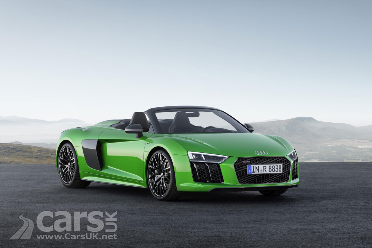Audi R8 Spyder V10 Plus Convertible Roars In With 602bhp