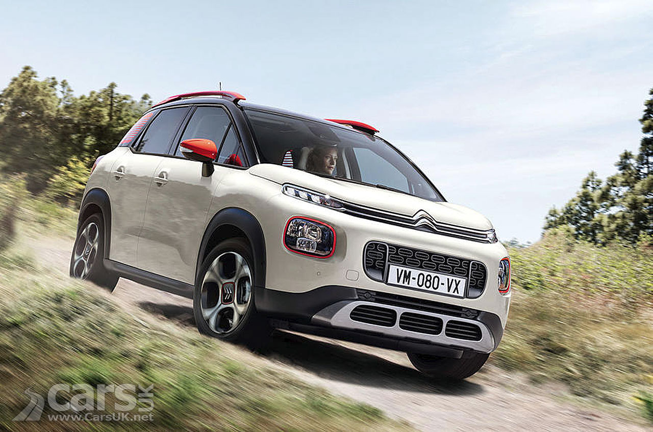 Citroen C3 Aircross revealed - replaces C3 Picasso