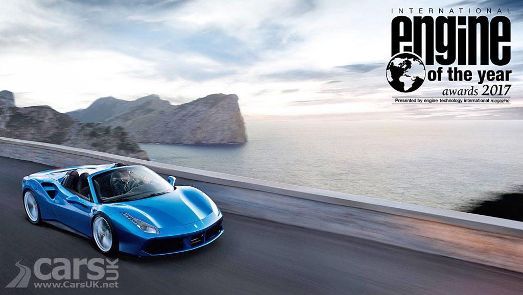 Photo Ferrari 3.9 litre V8 Turbo International Engine of the year winner