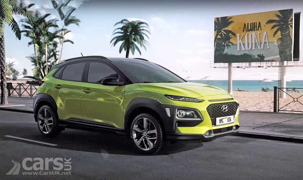 Photo Hyundai Kona SUV's highlights on video