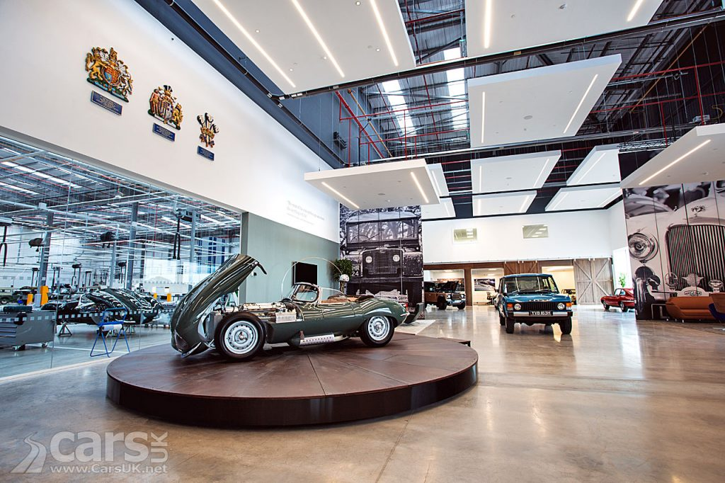 Photo Jaguar Land Rover Classic Car Works opens