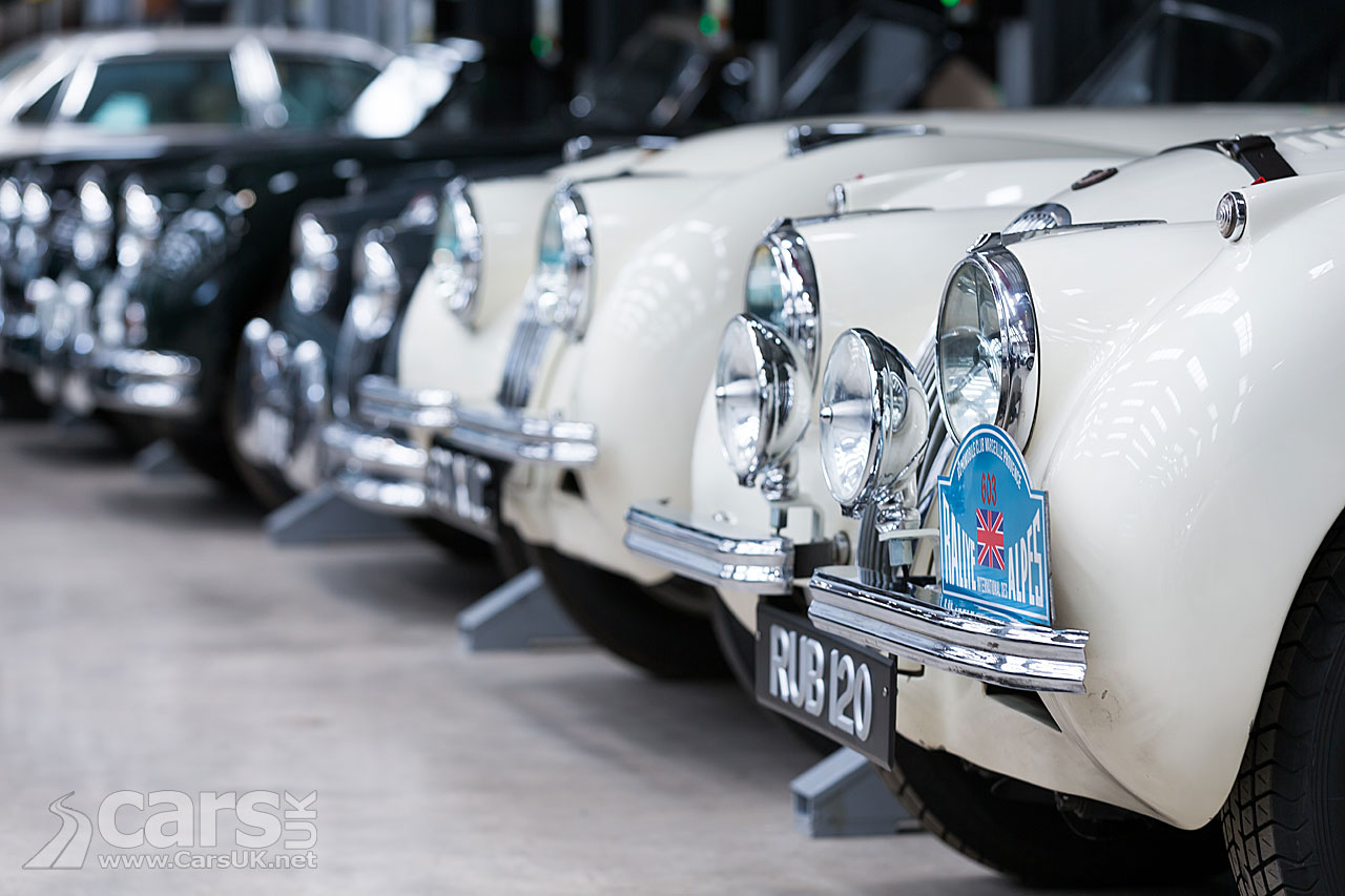 Photo Classic Jaguars all in a row