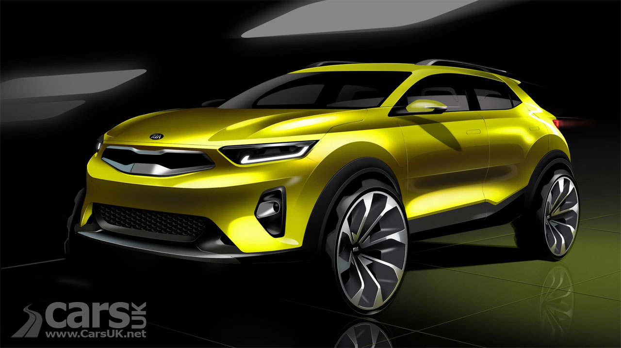 kia stonic suv kia 39 s take on the hyundai kona previewed ahead of frankfurt debut cars uk. Black Bedroom Furniture Sets. Home Design Ideas
