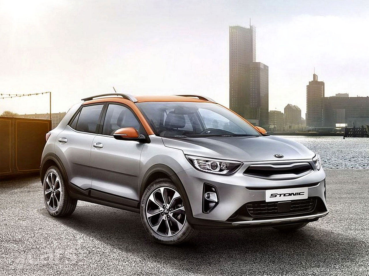 new kia stonic compact suv photos leak early to spoil kia 39 s reveal party cars uk. Black Bedroom Furniture Sets. Home Design Ideas