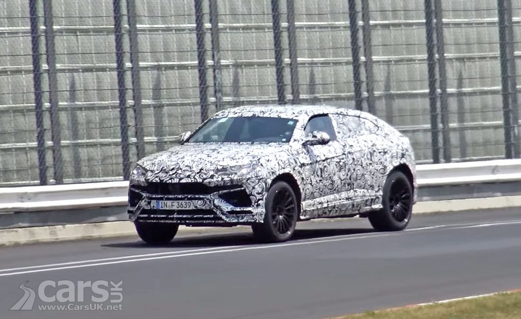 Photo Lamborghini Urus SUV Spy Video
