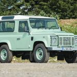 Rowan Atkinson's Land Rover Defender 90 Heritage heading for Silverstone Auctions