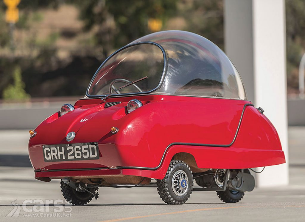 Photo Peel Trident Micro Car Auction