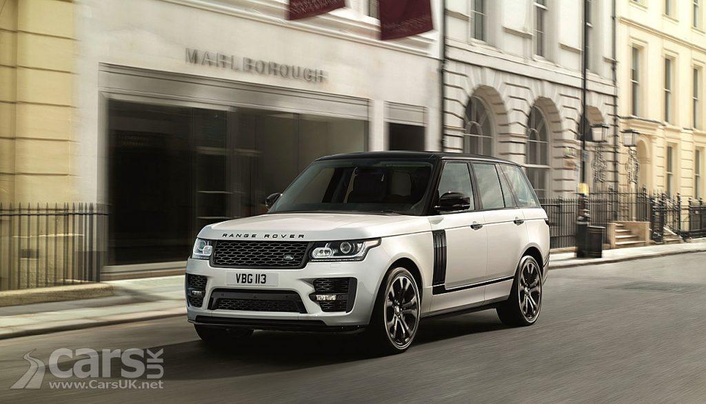 Photo New Range Rover SVO Design Kit