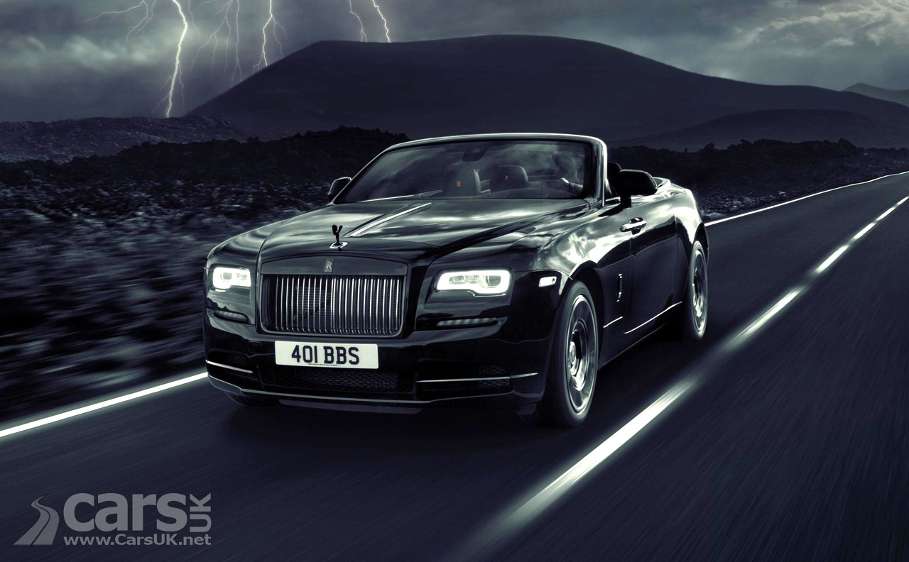 Dawn gets darker with Rolls-Royce Black Badge trim