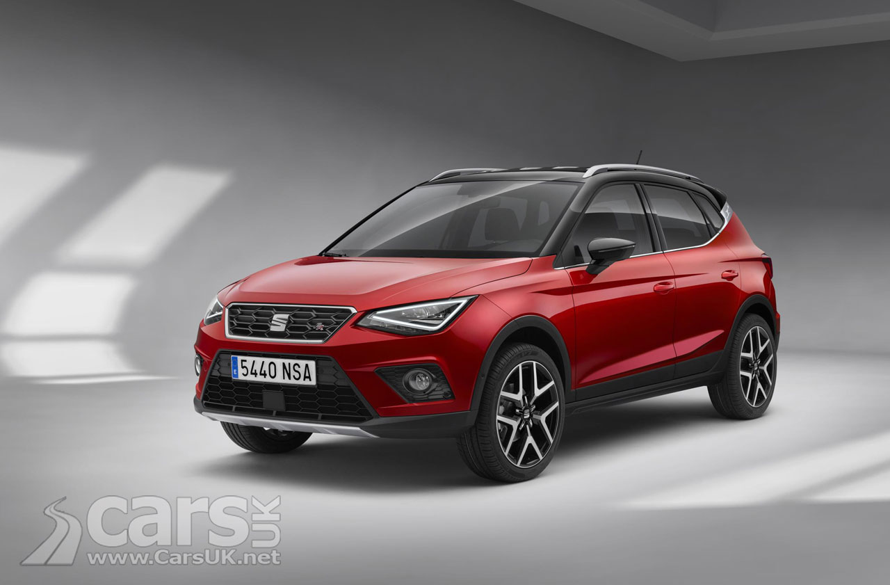 SEAT Arona OFFICIALLY revealed as SEAT's little brother for the Ateca SUV