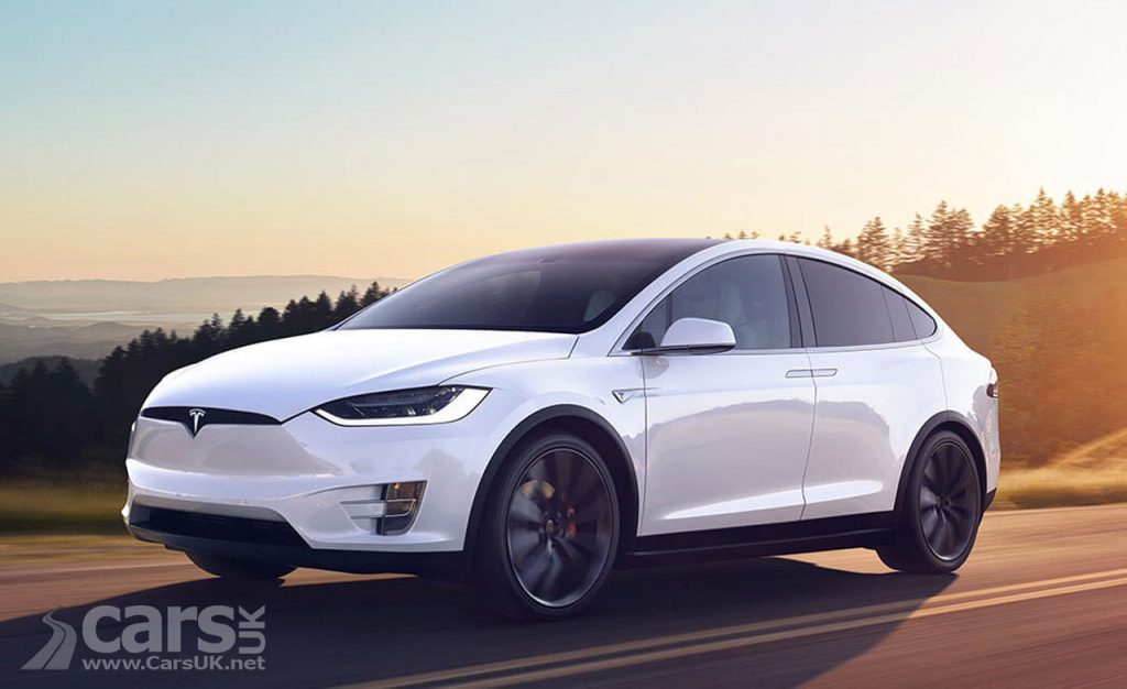 Photo Tesla Model X airbag update