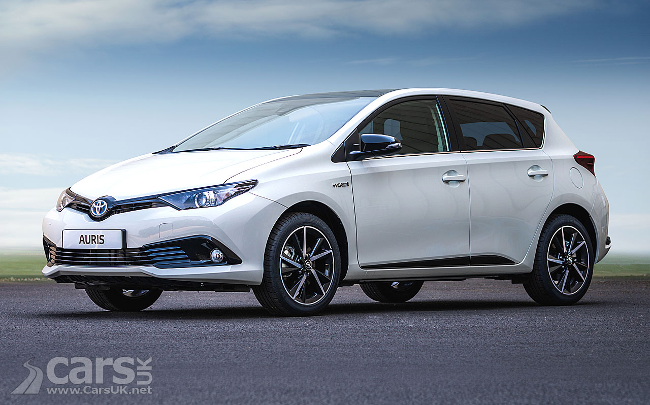 toyota auris hybrid gb25 celebrates 25 years of toyota in the uk costs from 24 045 cars uk. Black Bedroom Furniture Sets. Home Design Ideas