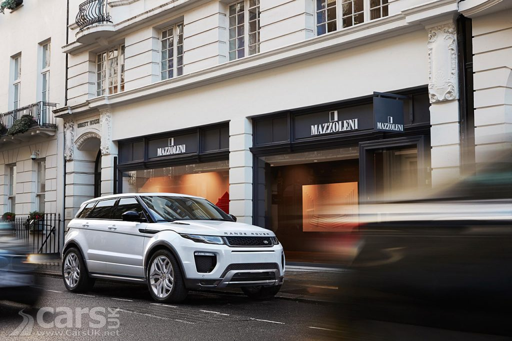 Range Rover Evoque is the Premiership Footballer's favourite car