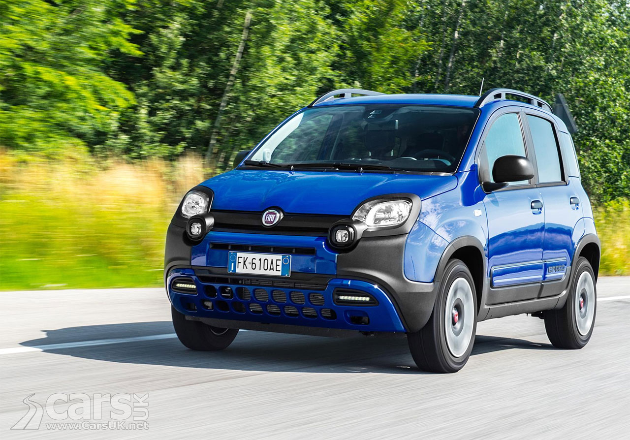 fiat panda city cross unveiled. Black Bedroom Furniture Sets. Home Design Ideas