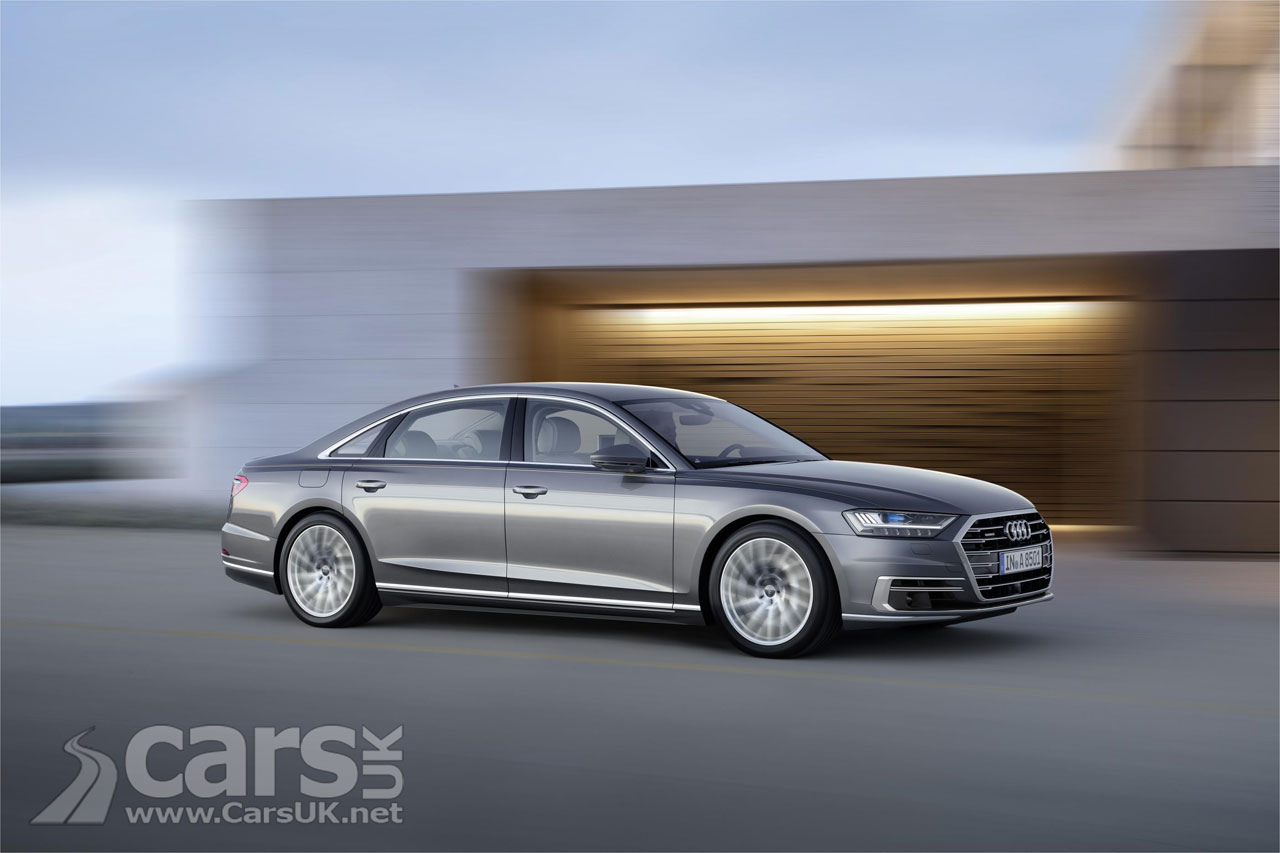 New Audi A8 luxury vehicle  unveiled