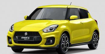 Suzuki Swift Sport REVEALED ahead of the new Suzuki's debut at Frankfurt