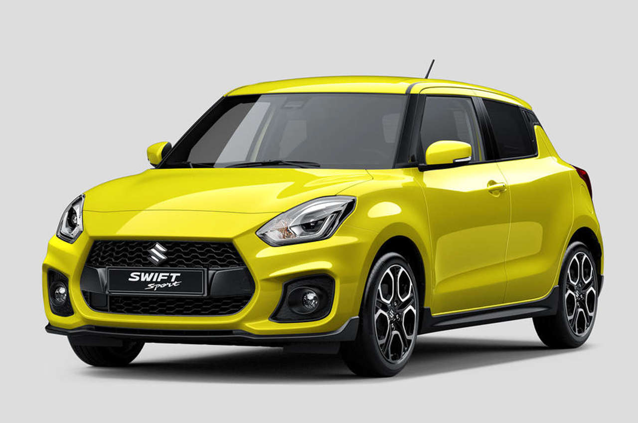 suzuki swift sport revealed ahead of the new suzuki 39 s debut at frankfurt cars uk. Black Bedroom Furniture Sets. Home Design Ideas