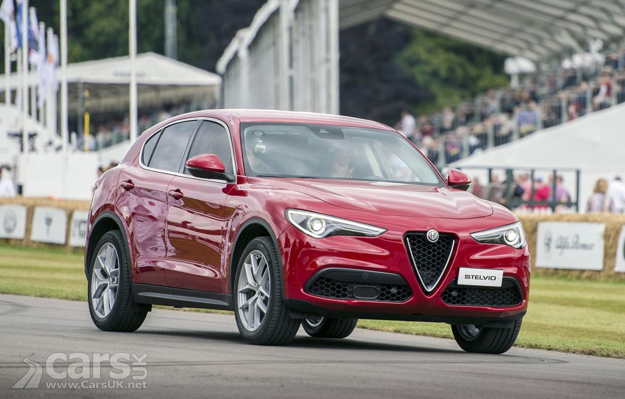 Alfa Romeo Stelvio UK price & specs - costs from £33,990 for the ...