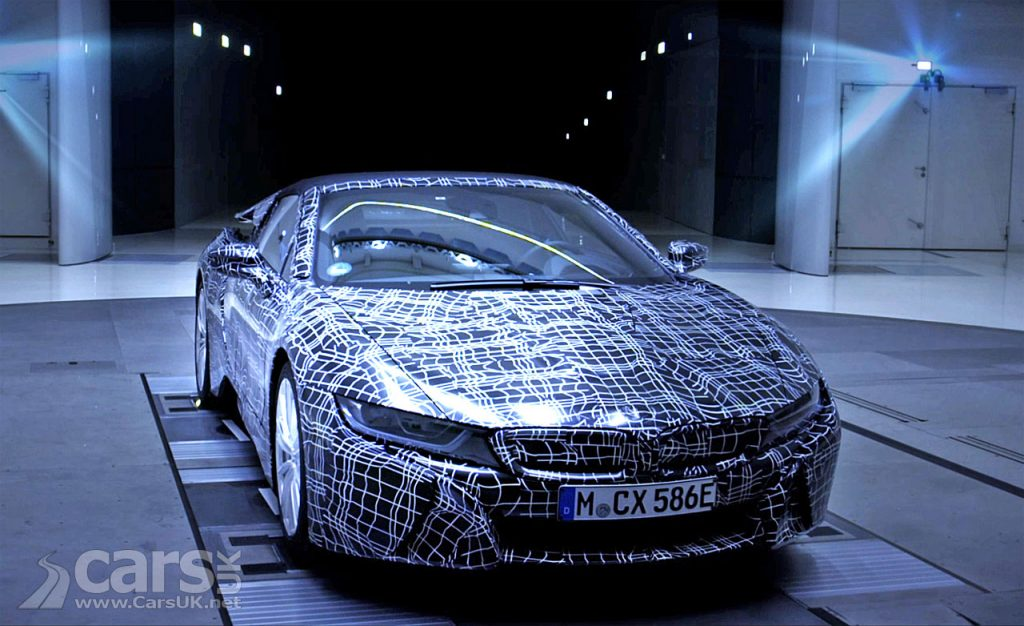 Photo BMW i8 Roadster teased on video