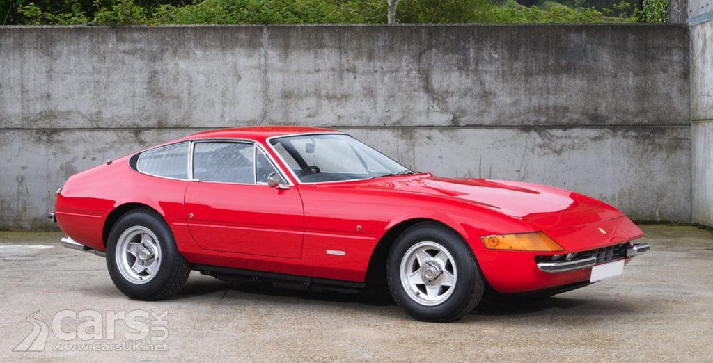 Elton John's 1972 Ferrari 365 GTB/4 Daytona