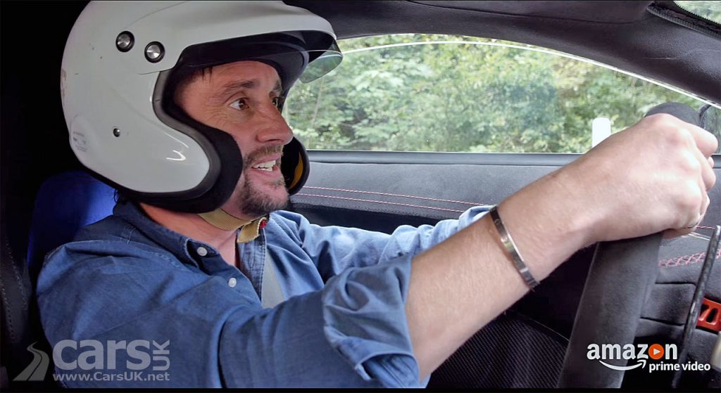 Richard Hammond takes off in the Rimac Electric Supercar ahead of his massive crash