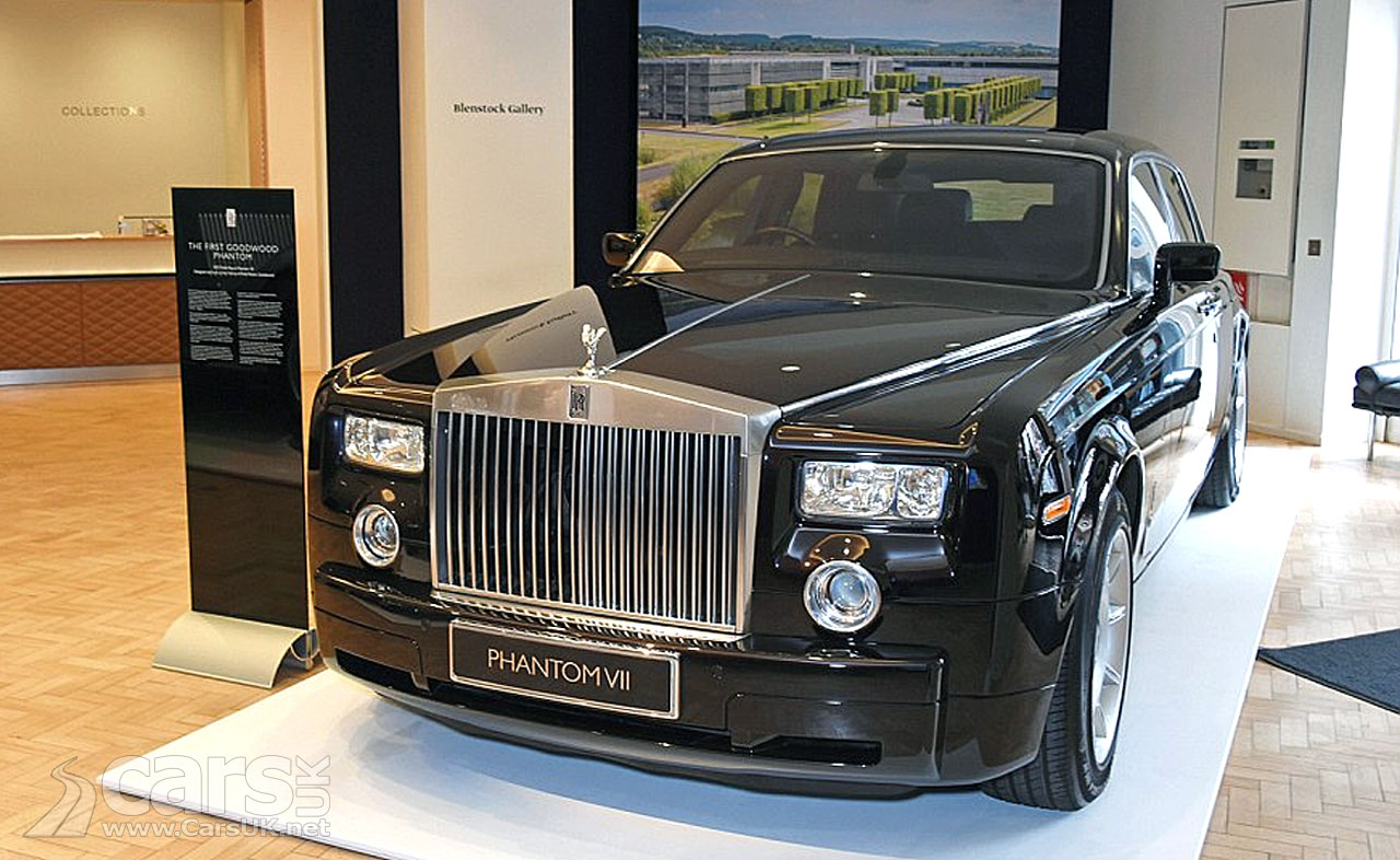The first BMW Rolls Royce Phantom VII