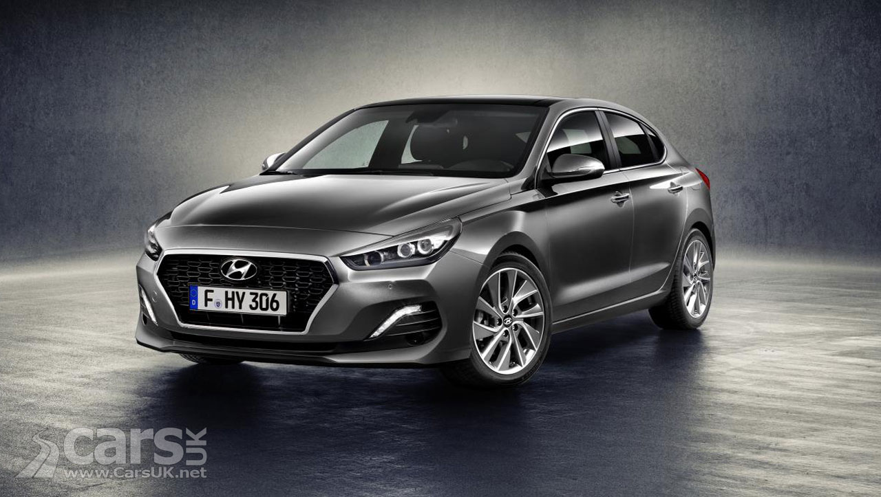 New Hyundai i30 Fastback arrives