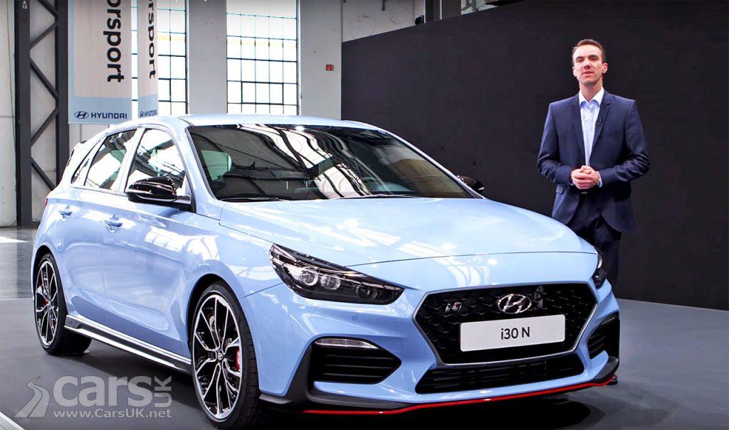 Hyundai i30 N in-depth showcase by Hyundai's Head of Product Management