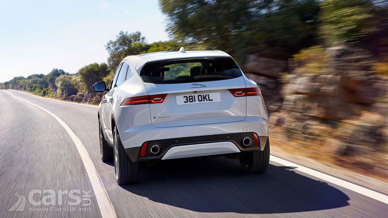 new jaguar e pace suv revealed as jaguar 39 s f pace 39 cub 39 costs from 28 500 cars uk. Black Bedroom Furniture Sets. Home Design Ideas