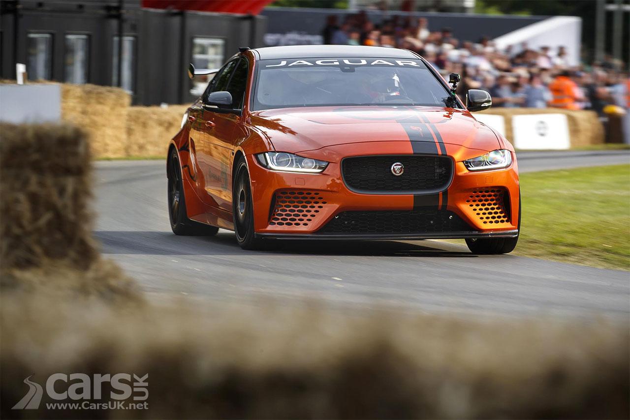 Photo Jaguar XE SV Project 8 Goodwood FoS 2017