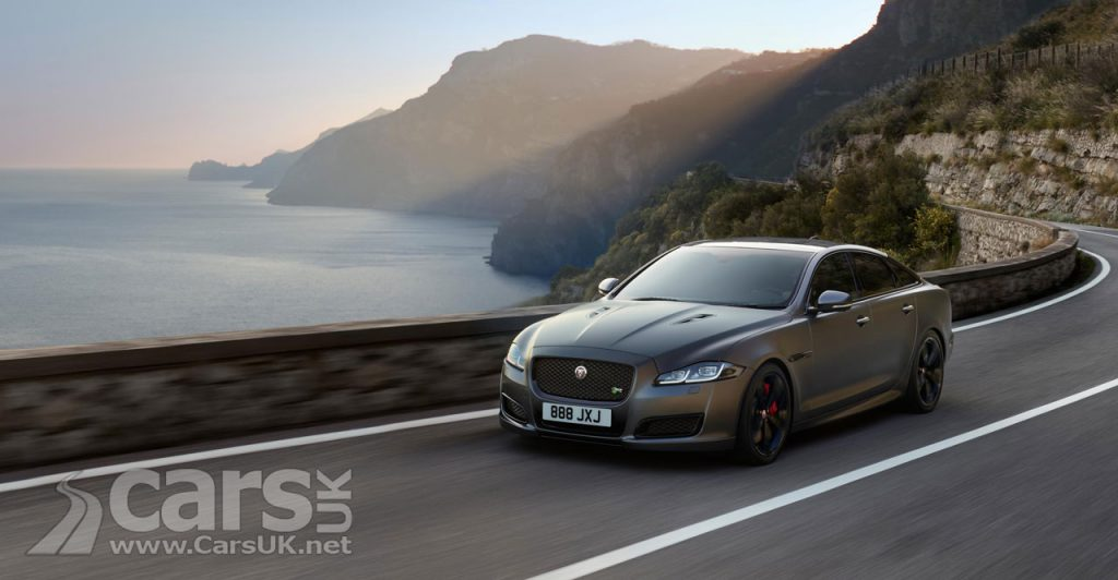 Jaguar XJR575 REVEALED as the most powerful XJ EVER - Price £93,710