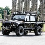 Land Rover Defender SVX from James Bond SPECTRE up for grabs at R M Sotheby's