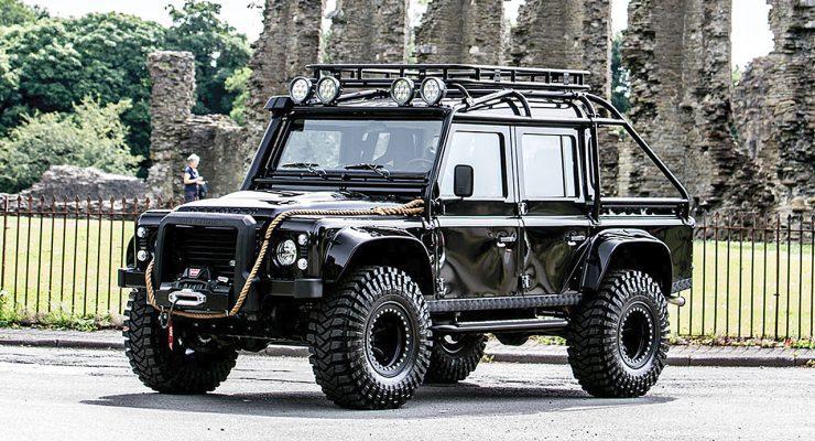 Land Rover Defender SVX from James Bond SPECTRE up for grabs