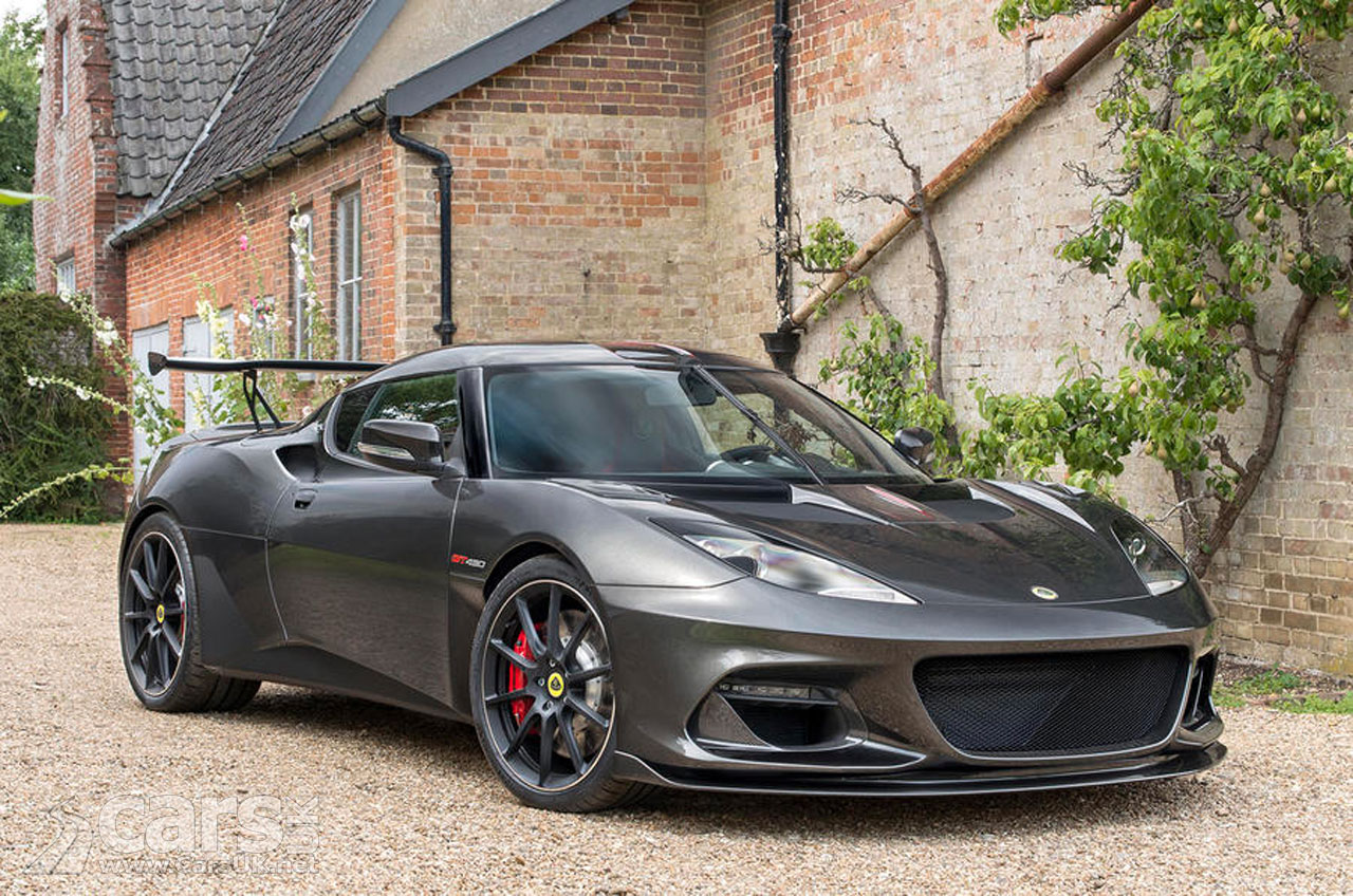 Lotus Evora GT430 - 430 hp, lighter, limited to 60 units