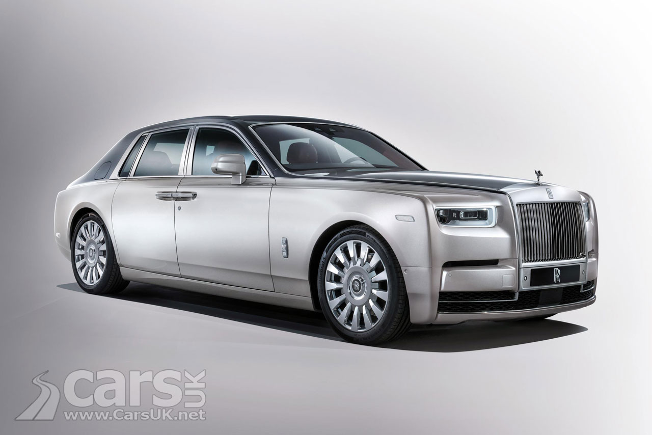 The new Rolls Royce Phantom VIII