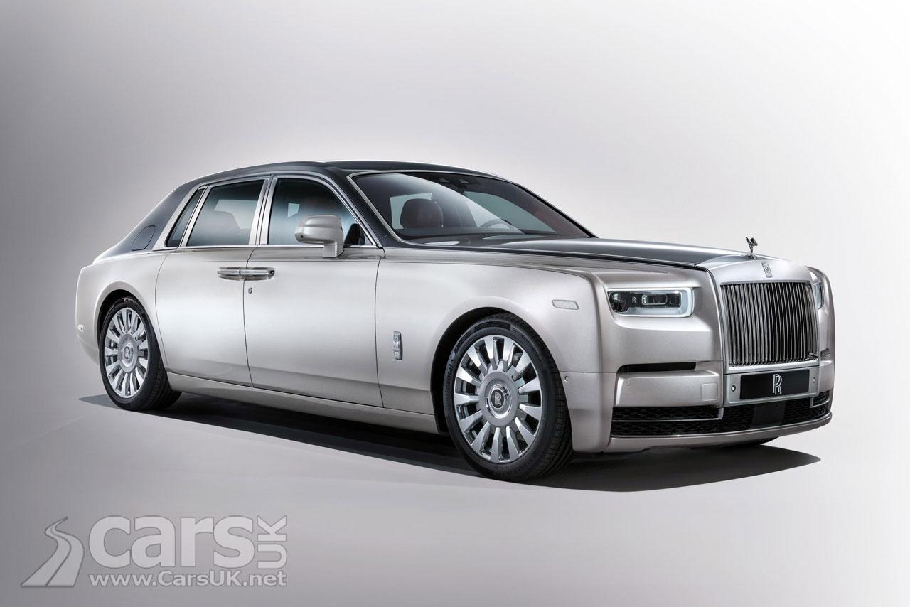 This is the new 2018 Rolls Royce Phantom 8