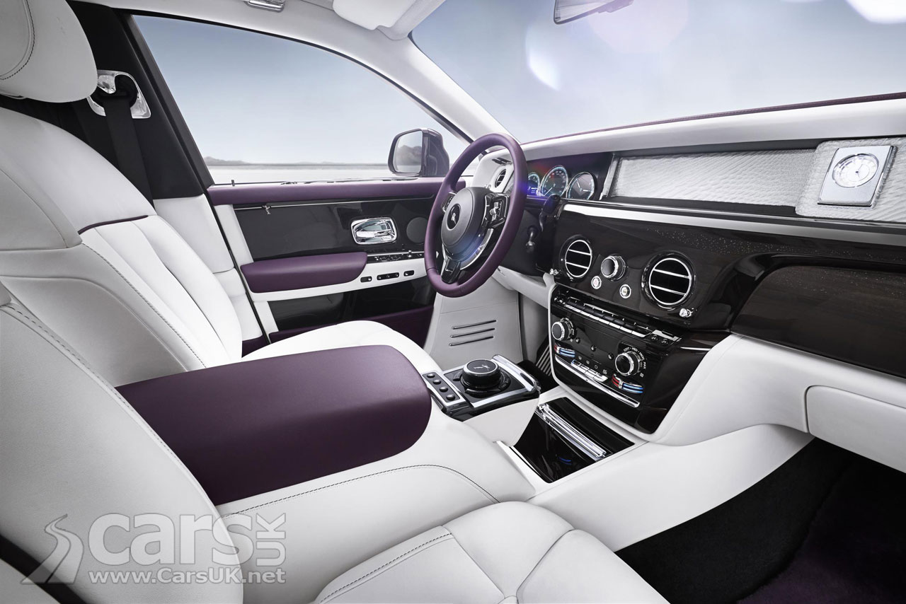 Rolls Royce Phantom 8 Interior