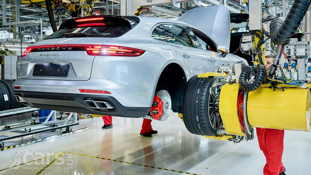 Porsche Panamera Sport Turismo Production starts in Germany