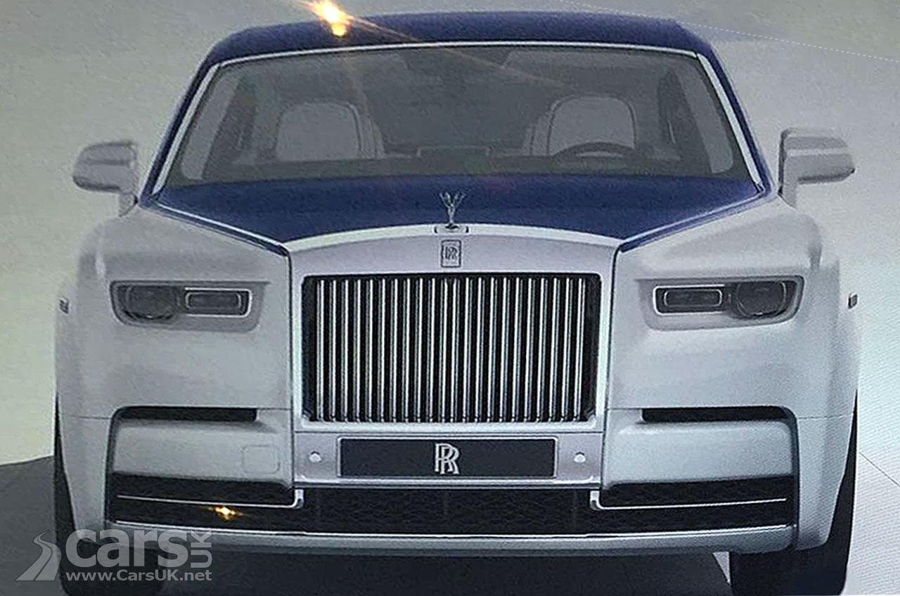 Rolls Royce Phantom VIII LEAKS online