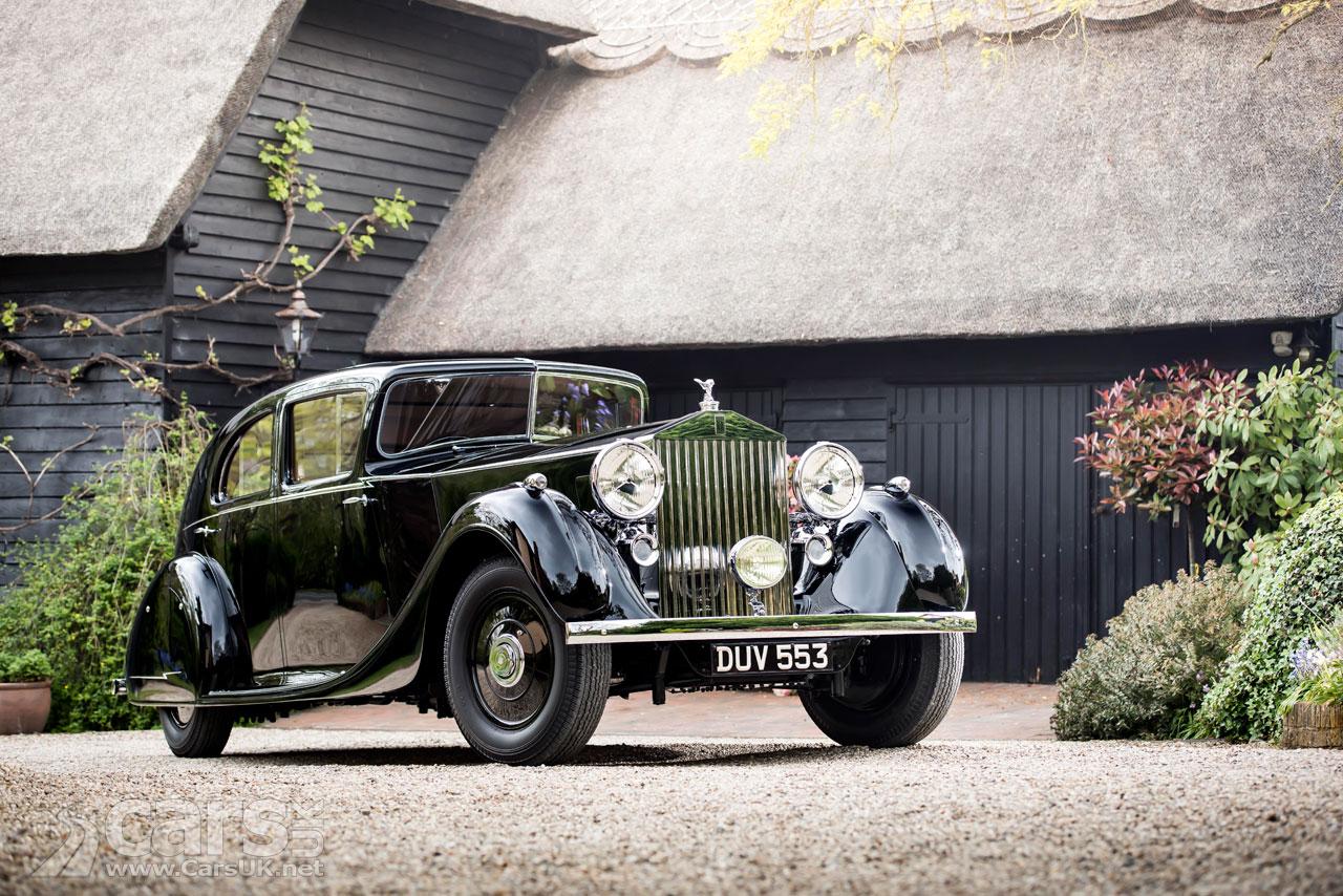 Field Marshall 'Monty' Montgomery's Rolls Royce Phantom III